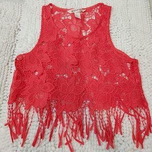 HM crochet top